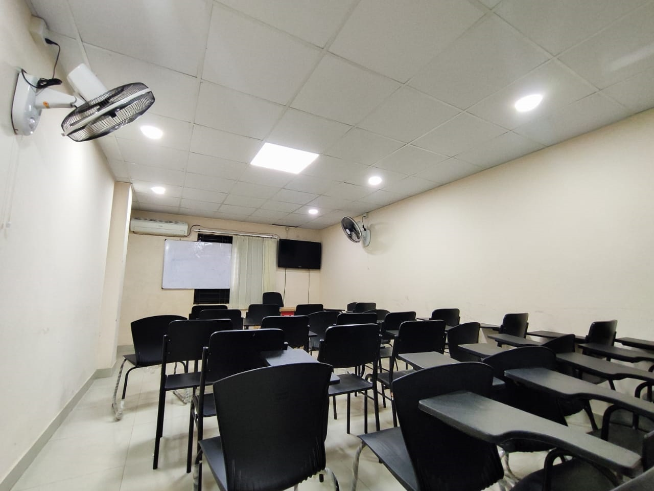 One of the classrooms of OHI equipped with latest technology and soothing eye-catching environment
